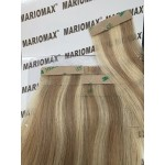 """18""""-19"""" Remi Tape in Hair Extensions Silky 50g a Pack Of 20 Pieces"""