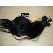 I-TIP Virgin Indian Human Hair 100% Unprocessed  (25 Pieces  I-Tip Extensions Per Pack)
