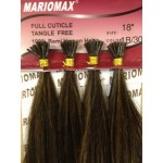 """Polymer  I-TIP 18"""" Remi Hair Extensions Silky (25 Strand I-Tip Extensions Per Bundle)"""
