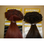 "Weft Locks (10"" Width) 100% Remi human hair Extension Made in USA"